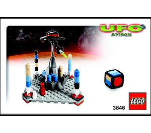 LEGO UFO Attack (3846) Instructions