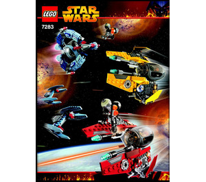 LEGO Ultimate Space Battle Set 7283 Instructions