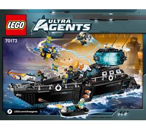 LEGO Ultra Agents Ocean HQ Set 70173 Instructions