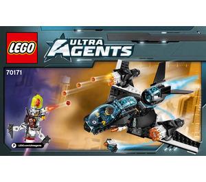 LEGO Ultrasonic Showdown Set 70171 Instructions