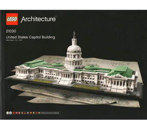 LEGO United States Capitol Building Set 21030 Instructions