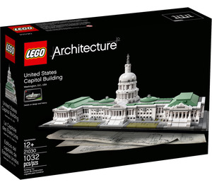 LEGO United States Capitol Building Set 21030 Packaging