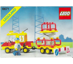 LEGO Utility Repair Lift Set 6671