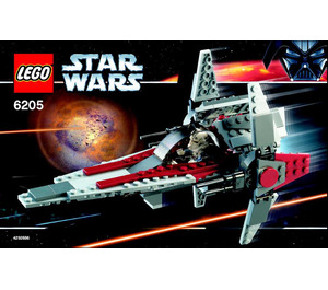 LEGO V-wing Fighter Set 6205 Instructions