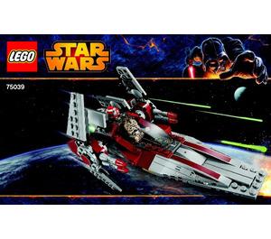 LEGO V-Wing Starfighter Set 75039 Instructions