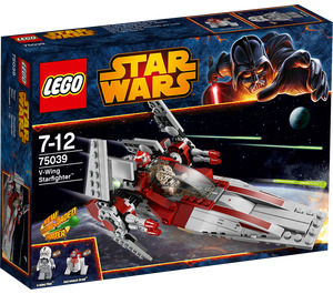 LEGO V-Wing Starfighter Set 75039 Packaging