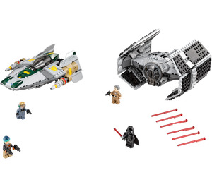 LEGO Vader's TIE Advanced vs. A-wing Starfighter Set 75150