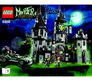 LEGO Vampyre Castle Set 9468 Instructions
