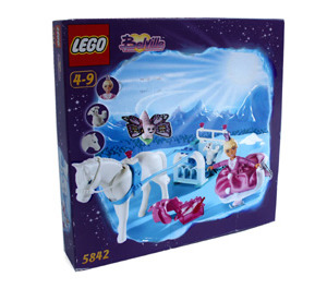LEGO Vanilla's Frosty Sleighride Set 5842 Packaging