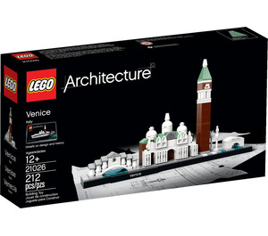 LEGO Venice Set 21026 Packaging
