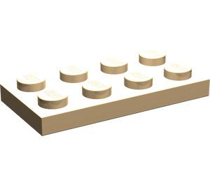 LEGO Sehr leichte Orange Platte 2 x 4 (3020)