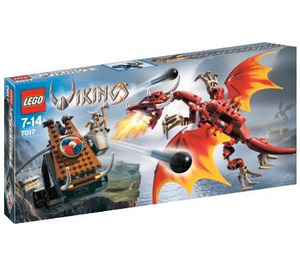 LEGO Viking Catapult versus the Nidhogg Dragon  Set 7017 Packaging