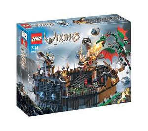LEGO Viking Fortress against the Fafnir Dragon Set 7019 Packaging