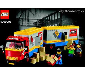 LEGO Villy Thomsen Truck Set 4000008 Instructions