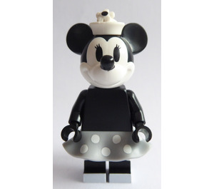 LEGO Vintage Minnie Mouse Minifigure