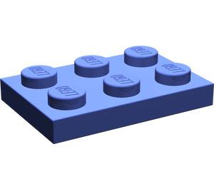 LEGO Violet Plate 2 x 3 (3021)