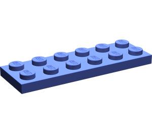 LEGO Violet Plate 2 x 6 (3795)
