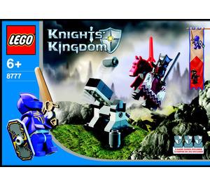 LEGO Vladek Encounter Set 8777 Instructions