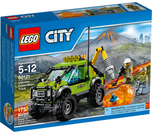 LEGO Volcano Exploration Truck Set 60121 Packaging