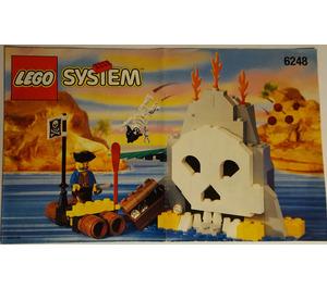 LEGO Volcano Island Set 6248 Instructions