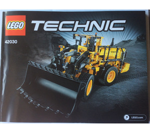 LEGO Volvo L350F Wheel Loader Set 42030 Instructions