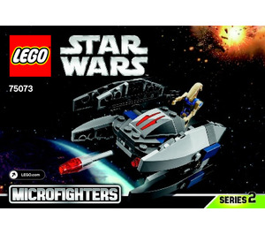 LEGO Vulture Droid Microfighter Set 75073 Instructions