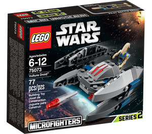 LEGO Vulture Droid Microfighter Set 75073 Packaging