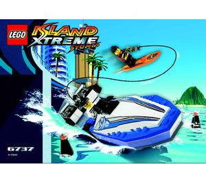 LEGO Wake Rider Set 6737 Instructions