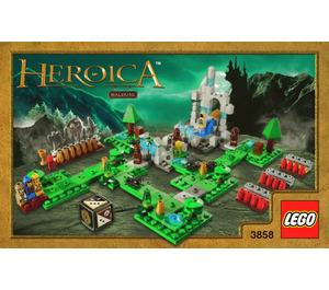LEGO Waldurk Forest (3858) Instructions