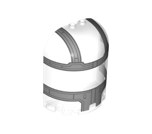 LEGO Wall 3 x 6 x 6 with Arch 1/2 Circle (68776)