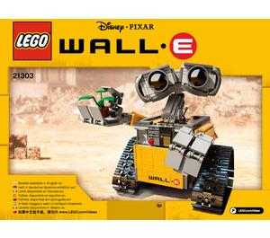 LEGO WALL-E Set 21303 Instructions