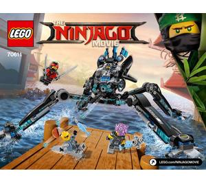 LEGO Water Strider Set 70611 Instructions
