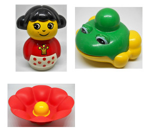 LEGO Waterlily Princess and Friend Set 2044