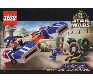LEGO Watto's Junkyard Set 7186