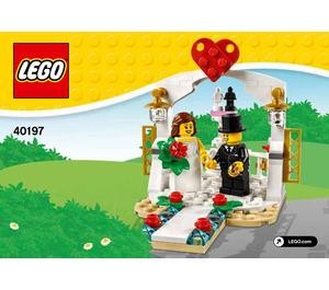 LEGO Wedding Favour Set 2018 40197 Instructions