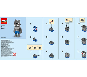 LEGO Werewolf Set 40217 Instructions