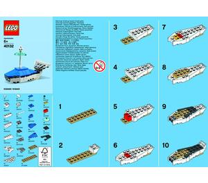 LEGO Whale Set 40132 Instructions