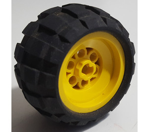 LEGO Wheel 43.2 x 28 Balloon Small Assembly (6580)