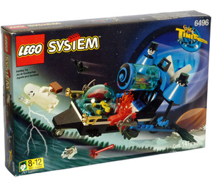 LEGO Whirling Time Warper Set 6496 Packaging