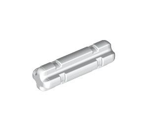 LEGO White Axle 2 with Grooves (32062)