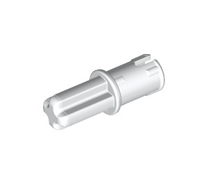 LEGO White Axle to Pin Connector with Friction (43093)