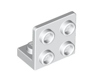 LEGO White Bracket 1 x 2 - 2 x 2 Up (99207)