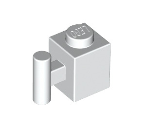 LEGO White Brick 1 x 1 with Handle (2921 / 28917)