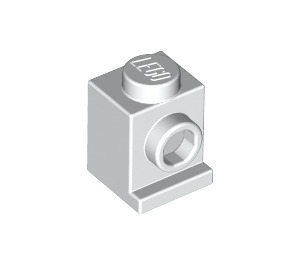 LEGO White Brick 1 x 1 with Headlight and No Slot (4070)