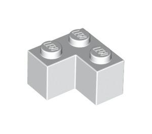 LEGO White Brick 2 x 2 Corner (2357)