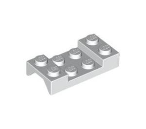 LEGO White Car Mudguard 2 x 4 without Hole (3788)