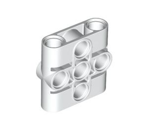 LEGO White Connector Beam 1 x 3 x 3 (39793)