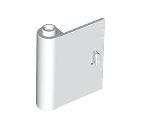 LEGO White Door 1 x 3 x 3 Left with Hollow Hinge (60658)