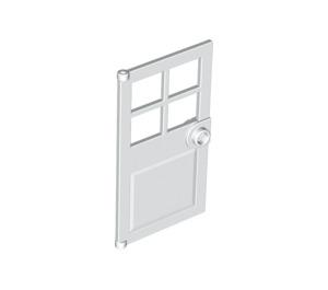 LEGO White Door 1 x 4 x 6 with 4 Panes and Stud Handle (60623)