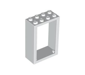 LEGO White Door 2 x 4 x 5 Frame (4130)